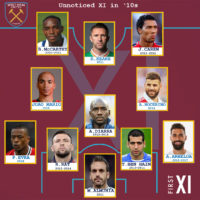 West Ham's Unnoticed XI in '10s