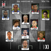 Besiktas's Unnoticed XI in '80s-'10s